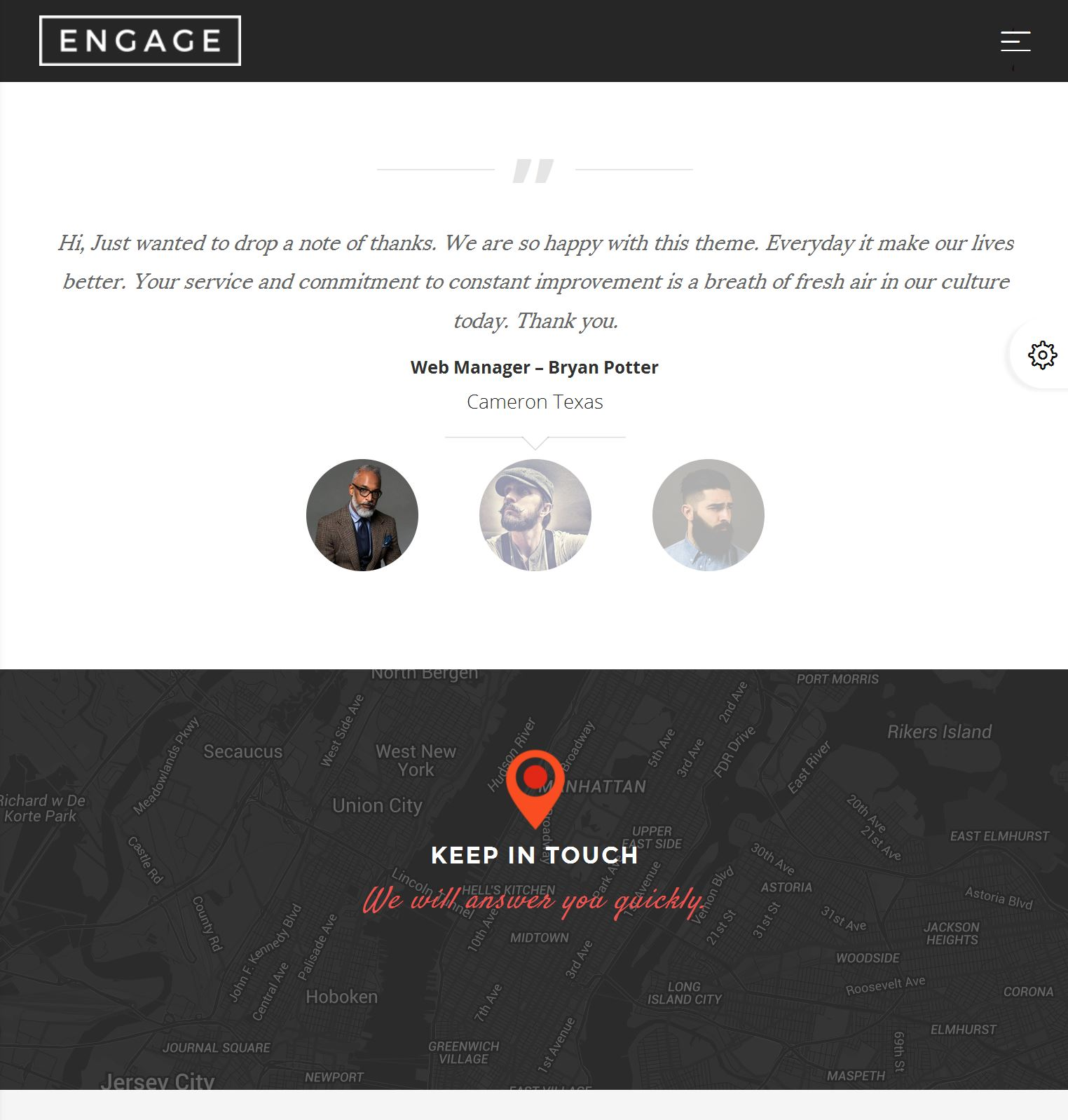 Bootstrap Cms Template