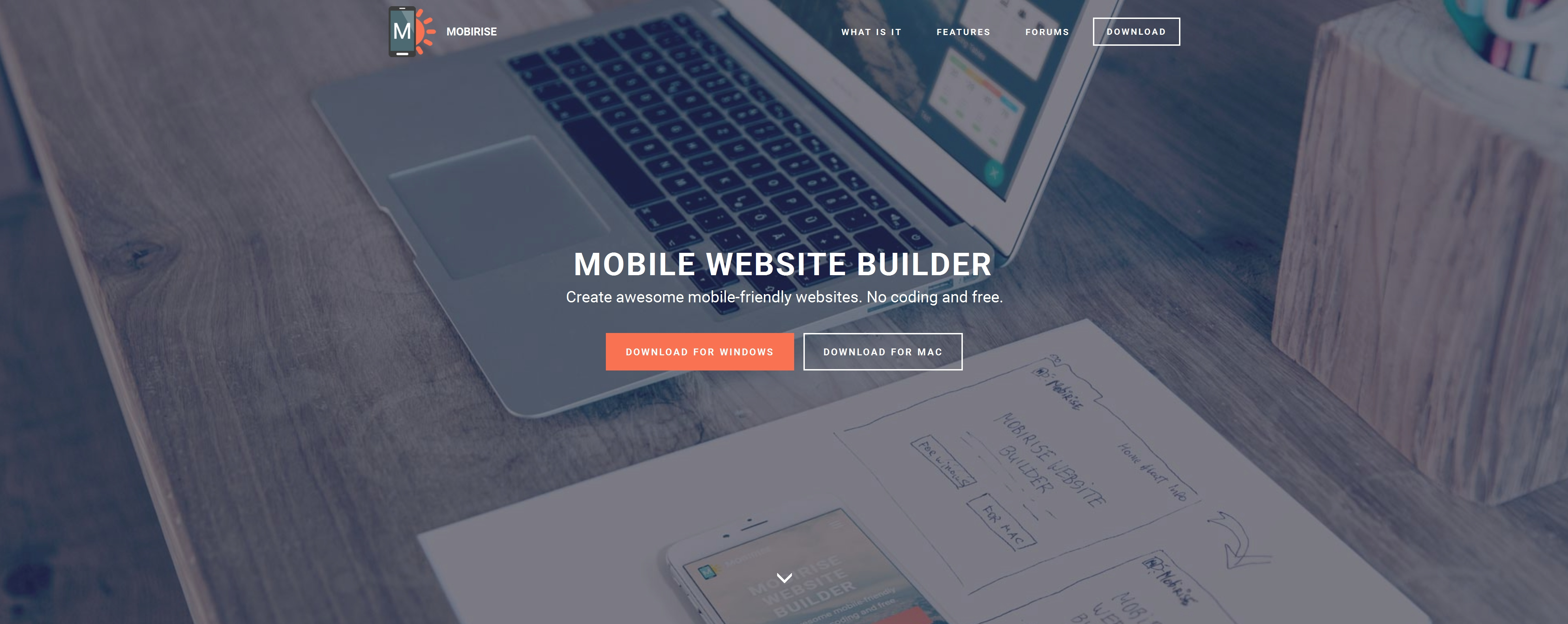 Bootstrap Mobile Website Creator