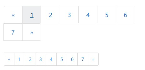 Pagination Sizing