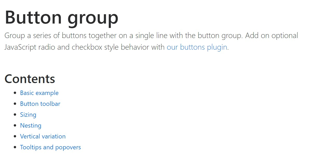 Bootstrap button group official  records