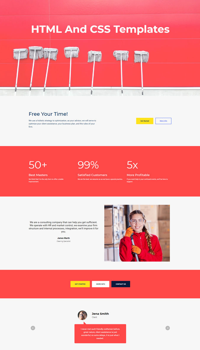 Simple Website Template